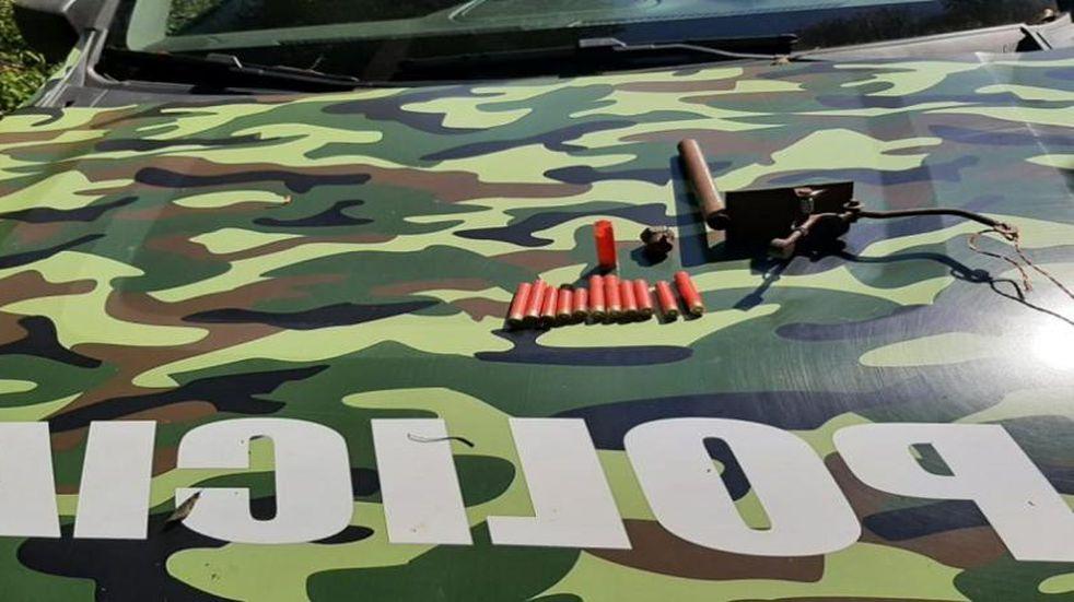 Desbaratan campamento de cazadores furtivos en Santiago de Liniers