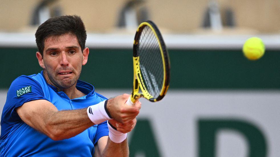 Enorme: Federico Delbonis ganó y está en octavos de final de Roland Garros