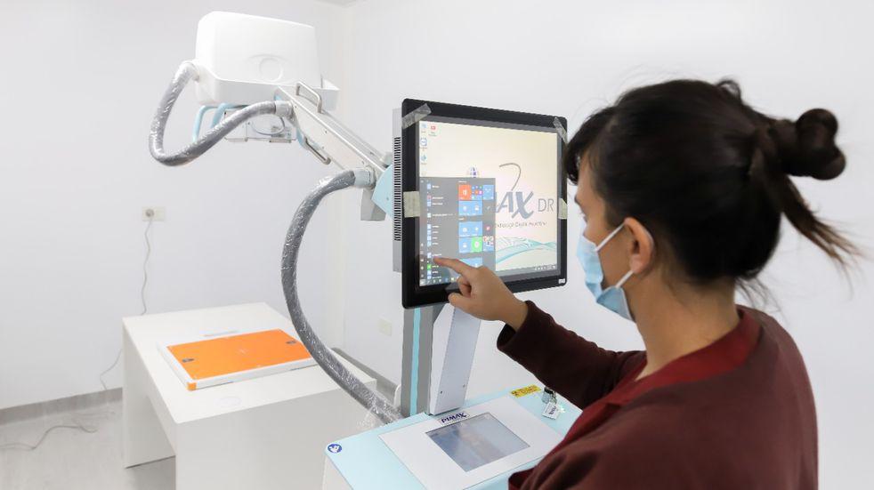 Instalaron nuevo equipamiento en el centro modular sanitario