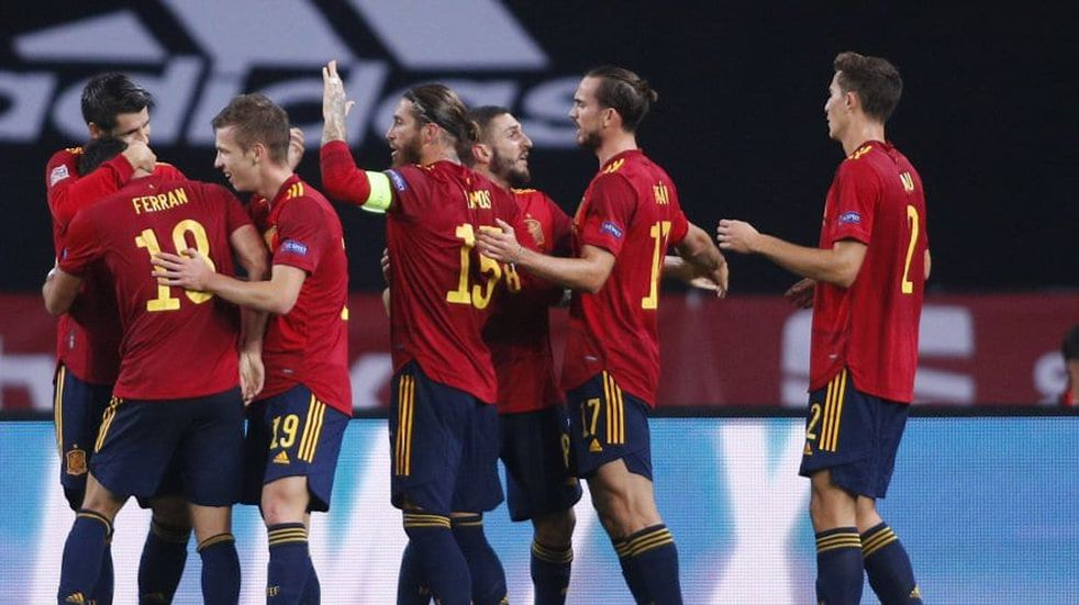 Histórico: España le ganó a Alemania por 6-0 y se metió en la semifinal de la Liga de las Naciones