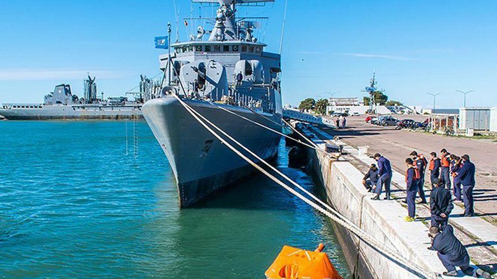 Puerto Belgrano: un buque de la Armada Argentina está abandonado hace 10 años