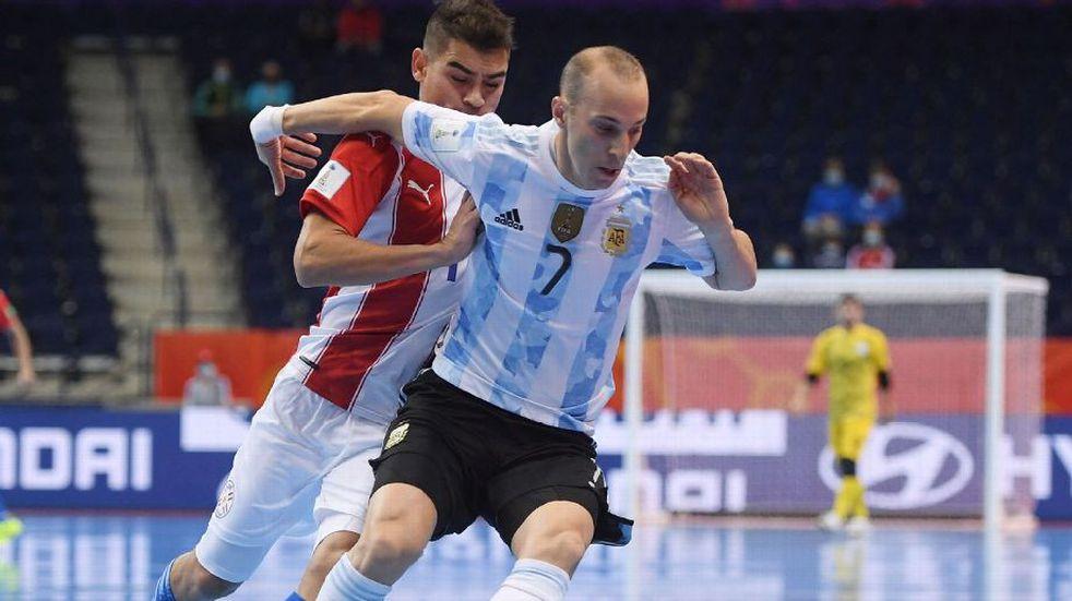 Argentina le gana a Paraguay y se mete entre los ocho mejores del Mundial.