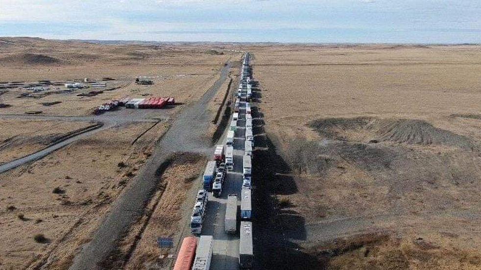 Protesta en Chile: hubo acuerdo y los casi 800 camioneros argentinos varados podrán ingresar a Tierra del Fuego