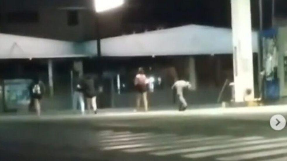 Frustrado intento de robo sobre la avenida Uruguay en Posadas