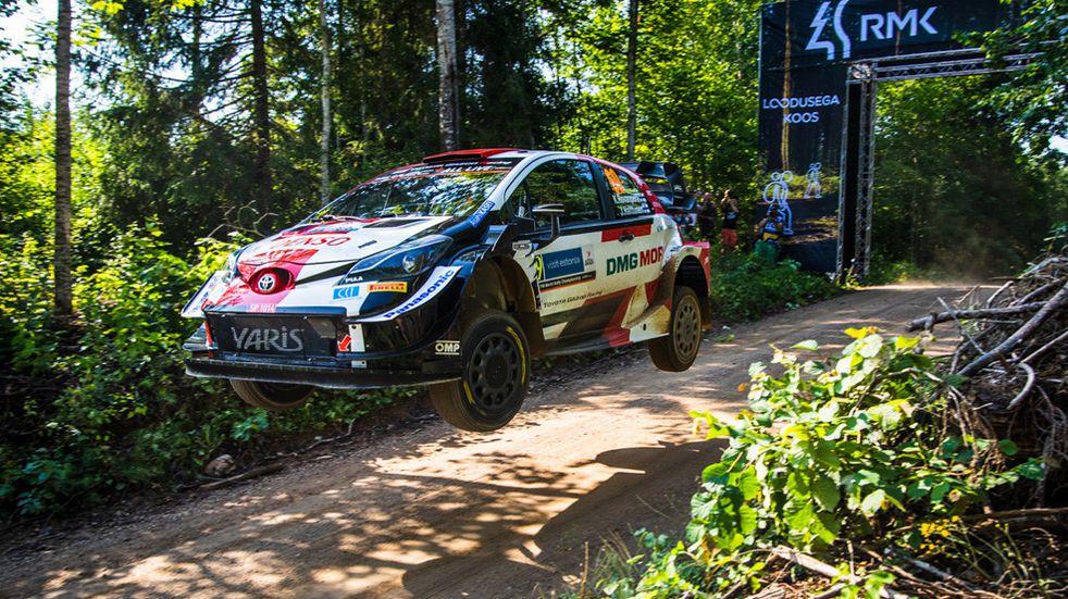 Rally Mundial: Rovanpera se impone en Estonia con Toyota