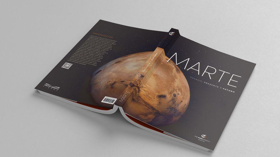 The MARS Society publicó un libro sobre Marte único en su tipo.
