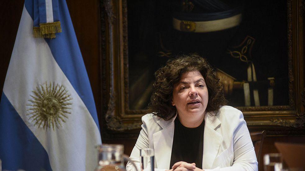 """Coronavirus: Carla Vizzotti anunció que durante este miércoles el """"50% de la población argentina"""" tendrá una dosis de la vacuna"""