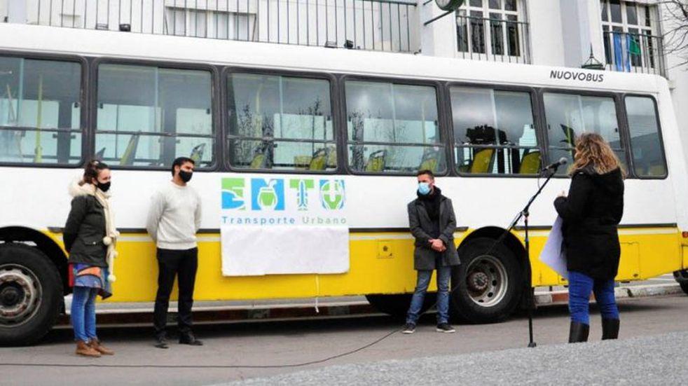 Seleccionaron el nuevo isologotipo para el Ente Municipal de Transporte Urbano de Santa Rosa