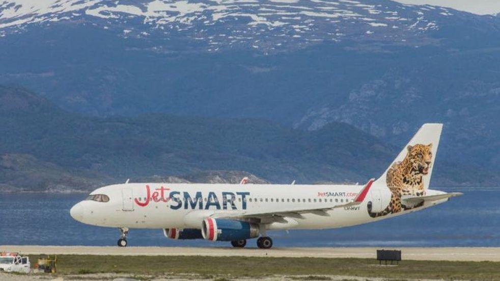 Vuelo inaugural JetSmart a Ushuaia. Fotos: Torre de Control.
