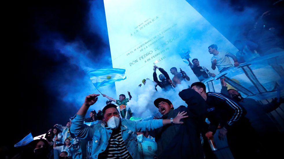 Argentina campeón de la Copa América: festejos en el Obelisco tras el triunfo frente a Brasil