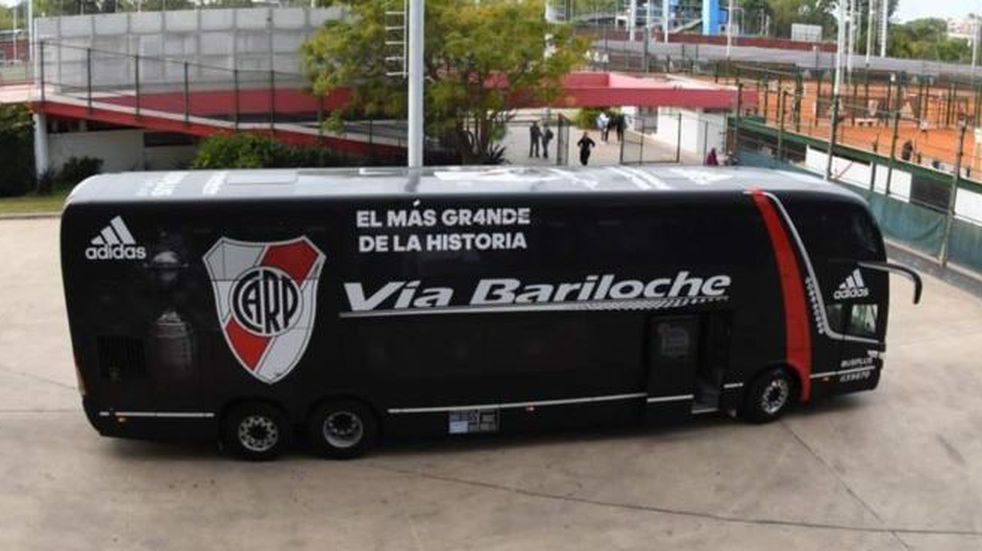 Copa Libertadores: todos los detalles del micro blindado en el que llegará River a la Bombonera para enfrentar a Boca