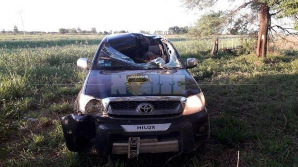 Un hombre falleció tras recibir el impacto de una rueda desprendida de una camioneta