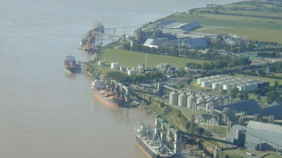 Paro de la Uocra complicó a los puertos agroexportadores en San Lorenzo