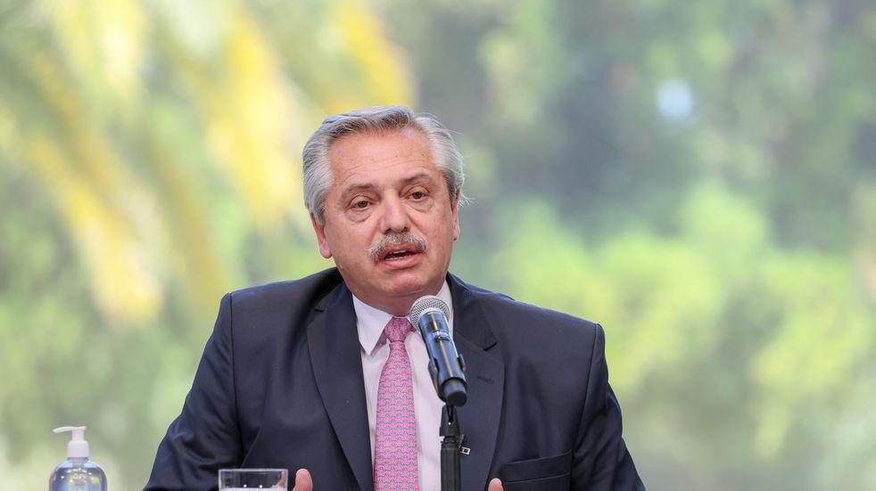"""Alberto Fernández confirmó """"el compromiso de Argentina con la agenda climática"""""""