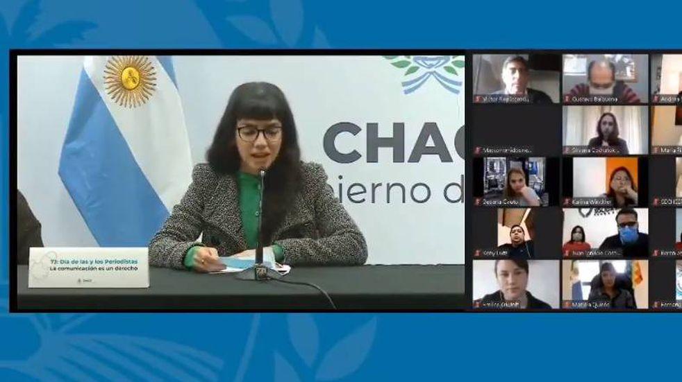 """""""El equipo y la equipa"""": el polémico uso de lenguaje inclusivo de la vicegobernadora de Chaco"""