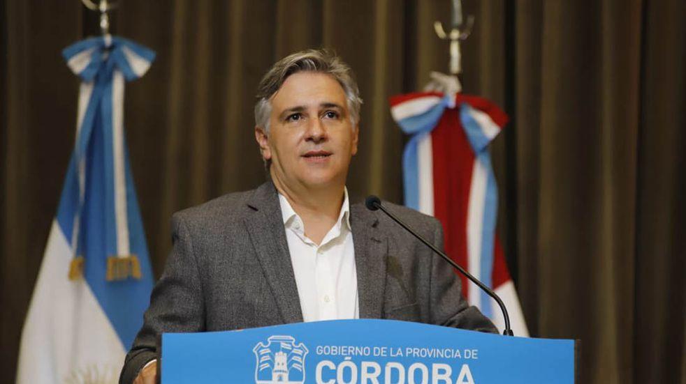 Coronavirus: Martín Llaryora quedará aislado por contacto estrecho