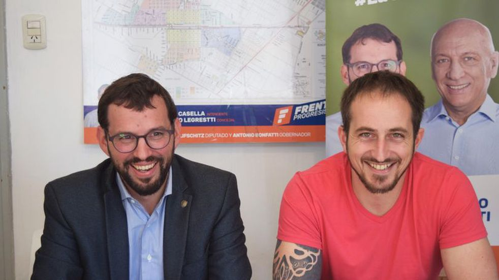 Renovar Pérez: Mauro Casella encabeza la lista de Concejales