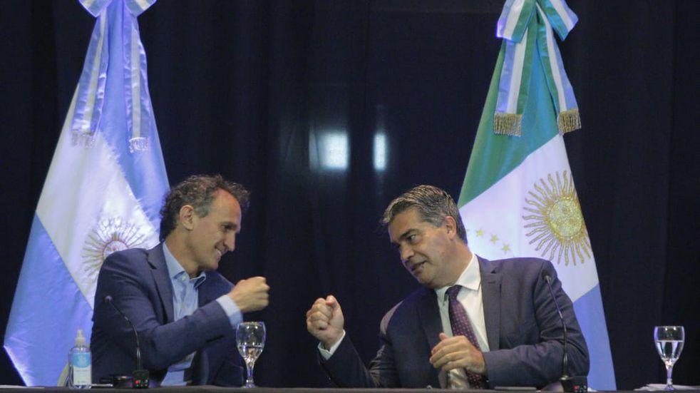 Katopodis y Capitanich presentaron proyectos que podrán en marcha en 2021 en Chaco