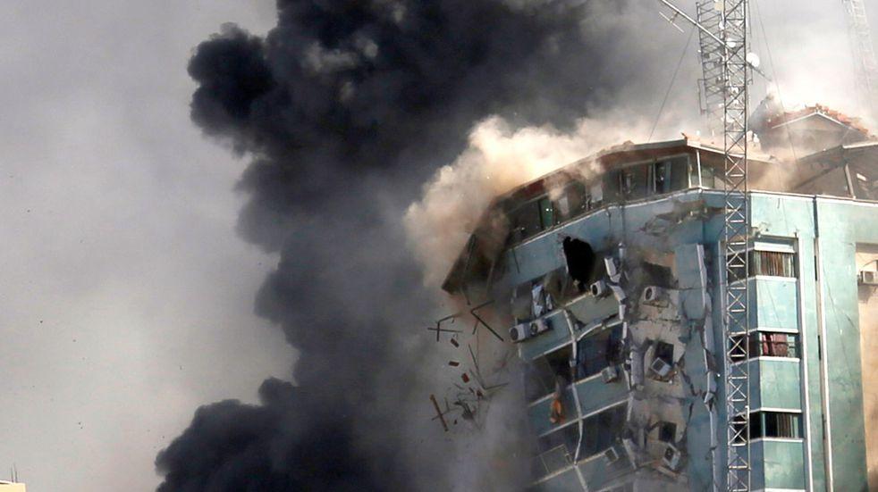 Israel continúa sus bombardeos en la Franja de Gaza: más de 200 muertos en una semana