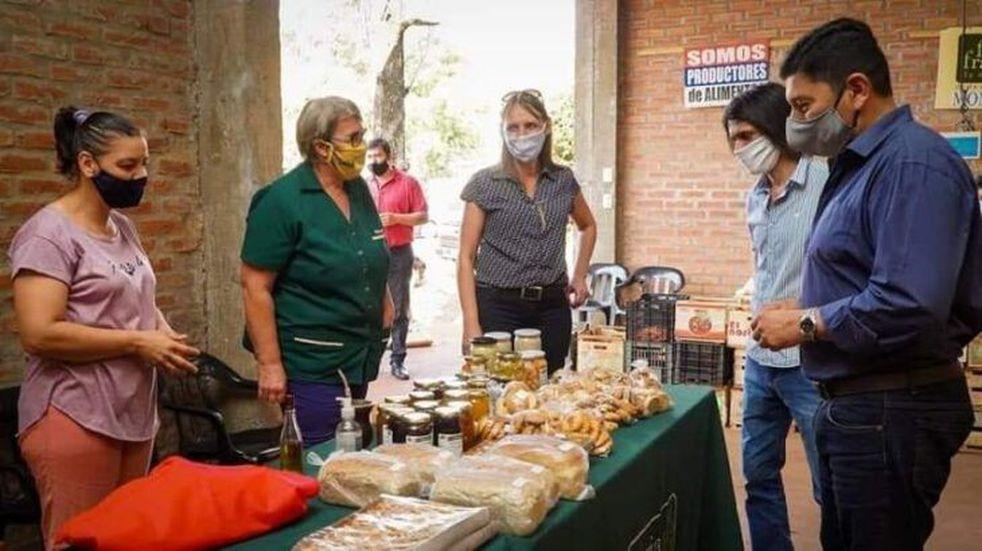El presidente del IFAI recorrió la Feria Franca de Montecarlo