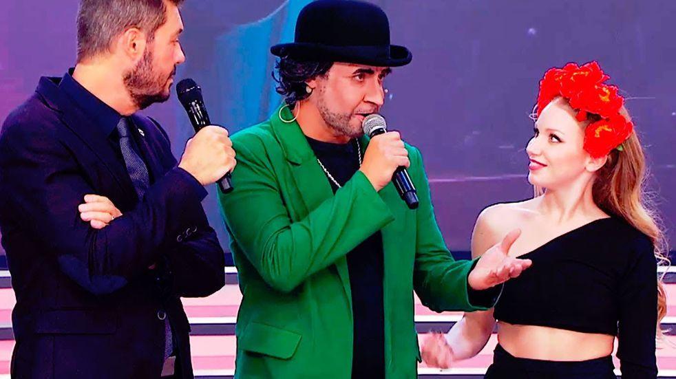 Ulises Bueno imitó a Joaquín Sabina en la Academia de ShowMatch
