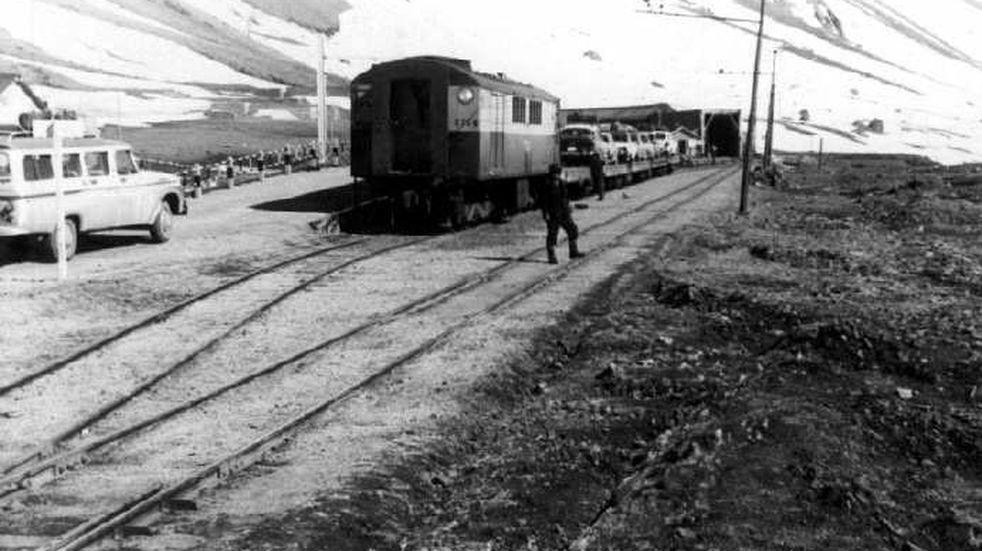 Un recorrido por la historia del Ferrocarril Trasandino