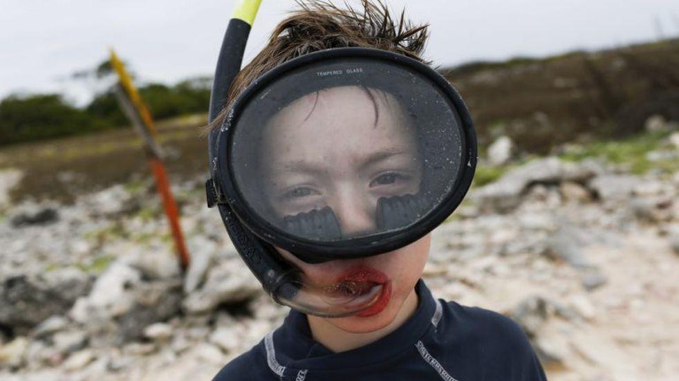 Un arrecife artificial es furor del buceo recreativo en Las Grutas