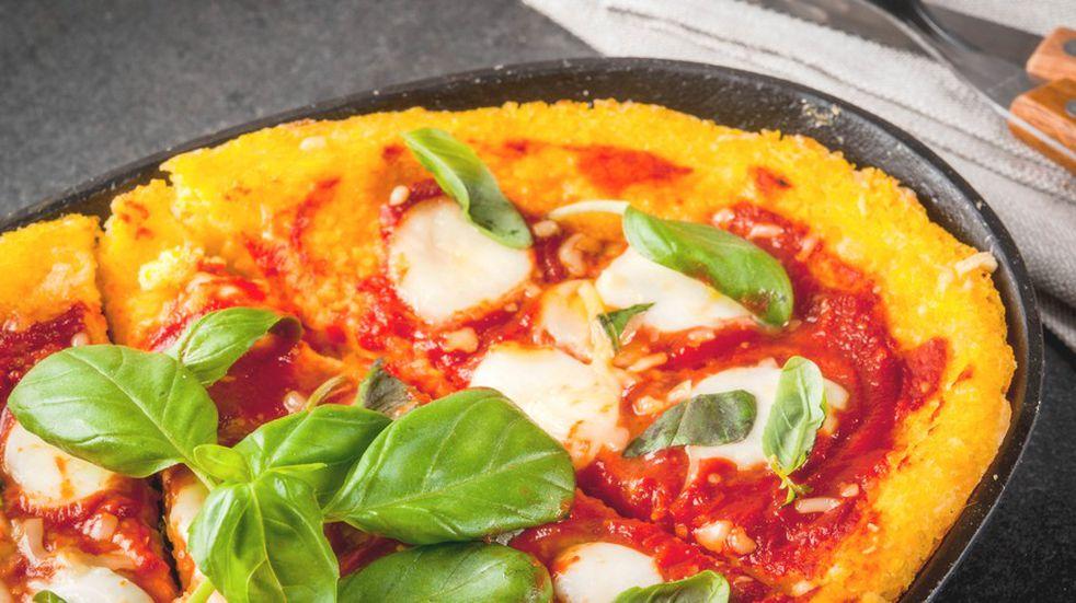 Pizza de polenta: una receta fácil, rica y rápida