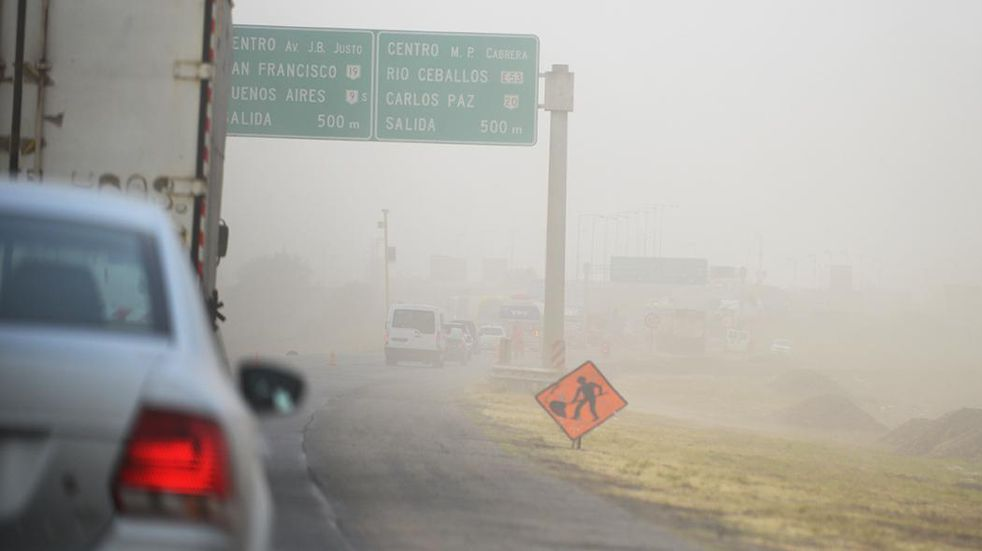 Alerta amarilla por vientos fuertes para el oeste de Córdoba