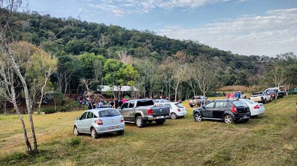 Desarticularon fiesta clandestina en Dos Arroyos