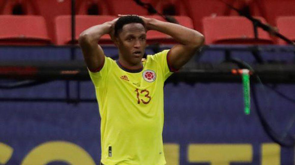 Qué dijo Yerry Mina sobre su cruce con Lionel Messi en la Copa América