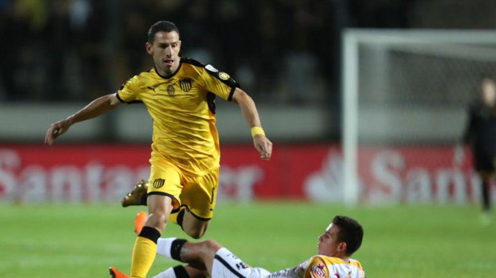 Fiera carbonera: Maxi Rodríguez renovó su contrato con Peñarol