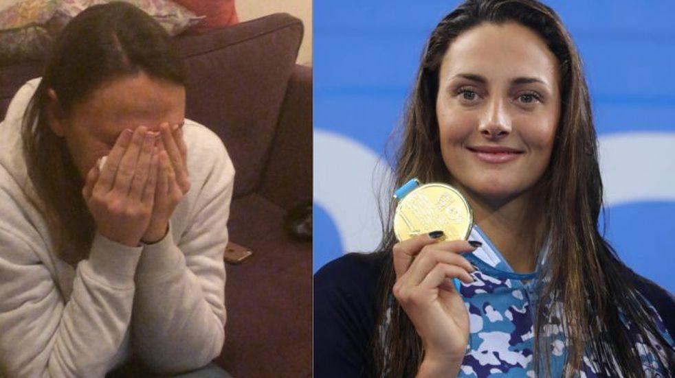 La emoción de Georgina Bardach por el oro de Vicky en los Juegos Panamericanos de Lima 2019