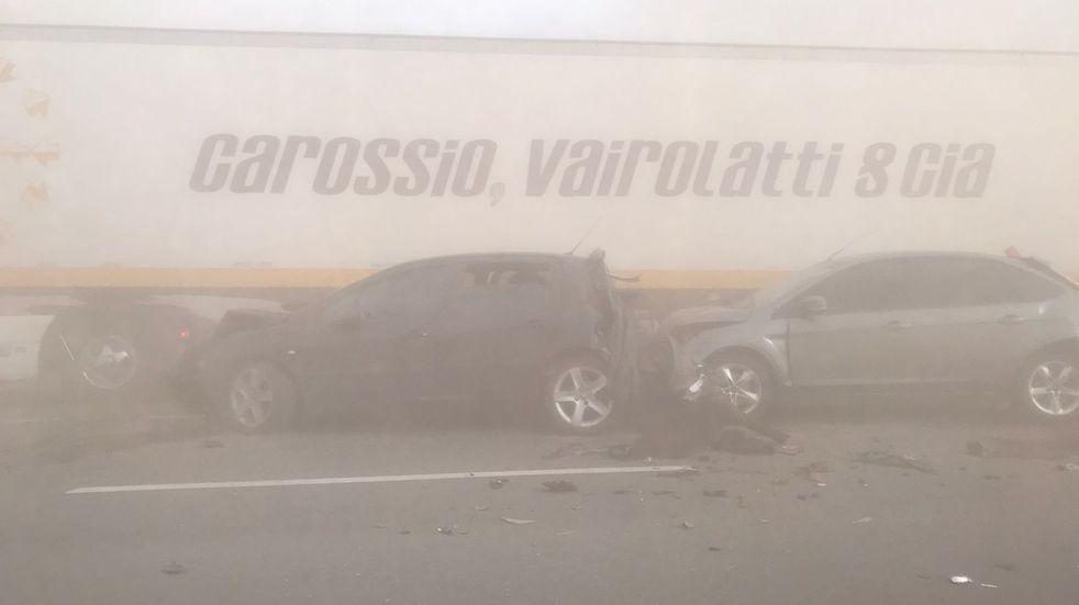 Viento en Córdoba: registran accidentes de tránsito y piden circular con precaución