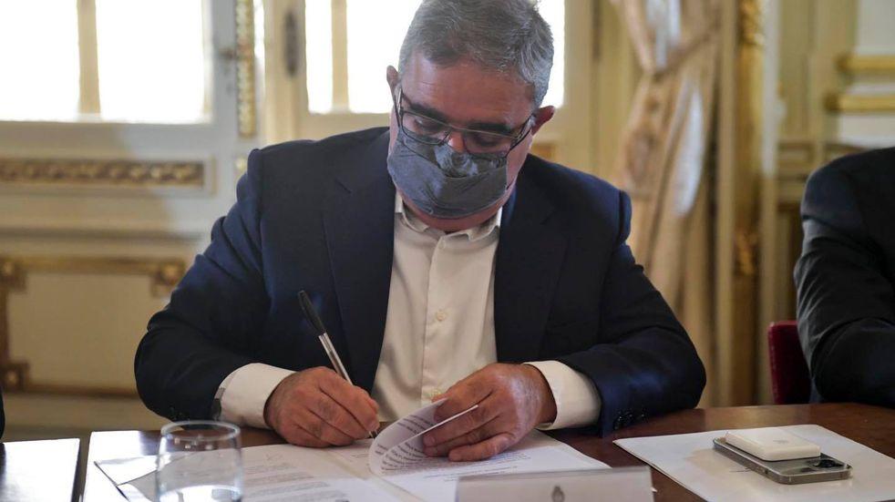 Raúl Jalil, gobernador de Catamarca.