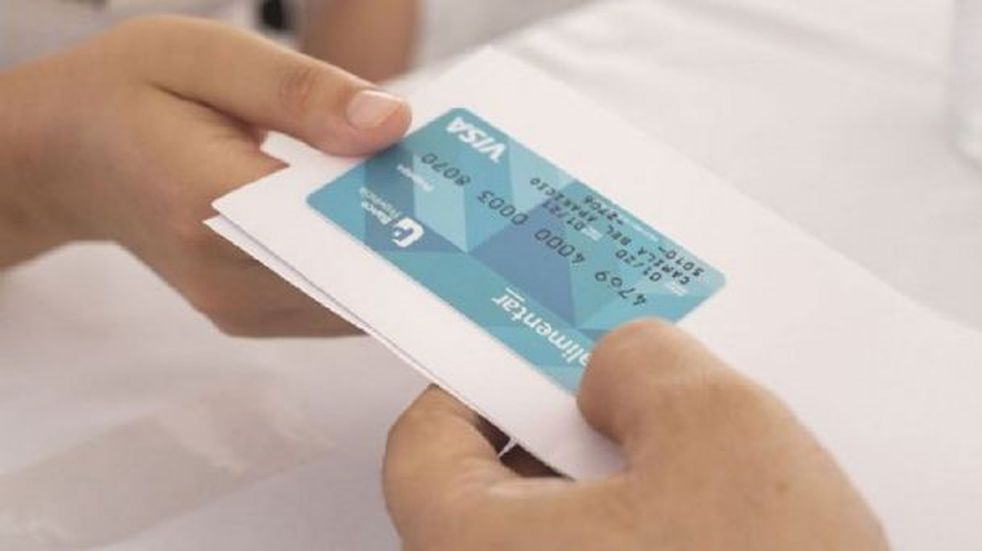 Nuevo operativo de entrega de tarjetas Alimentar en La Plata
