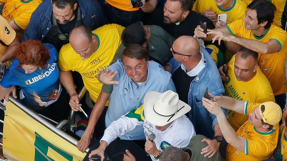 Tensión en Brasil: multitudinarias marchas pro Bolsonaro en el día de la independencia