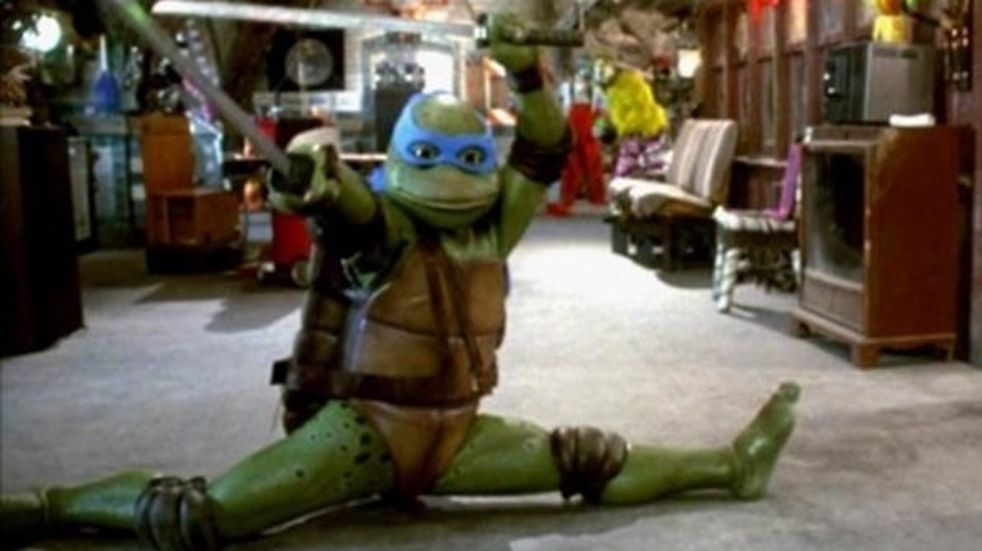 """El disfraz original de una """"Tortuga Ninja"""" que se viralizó por su gracioso aspecto y nadie quiere comprar"""