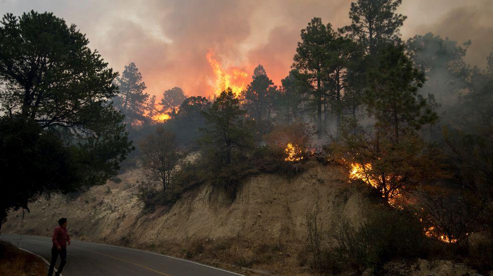 México vive una de sus peores temporadas de incendios forestales en años