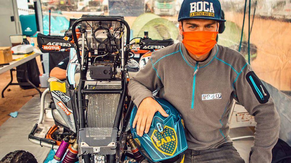 Otro triunfo argentino en el Dakar: Manuel Andujar ganó en cuatris