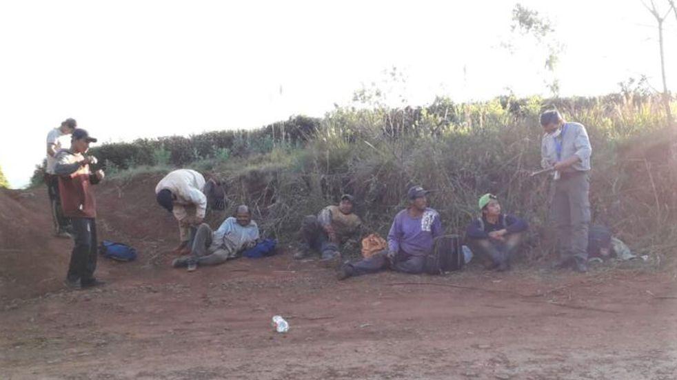 Tras un operativo de control, constataron actividad informal en Campo Grande