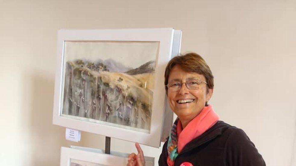 """Se podrán disfrutar de las obras de Graciela Marinelli en """"Los Visuales"""" de Guaymallén"""