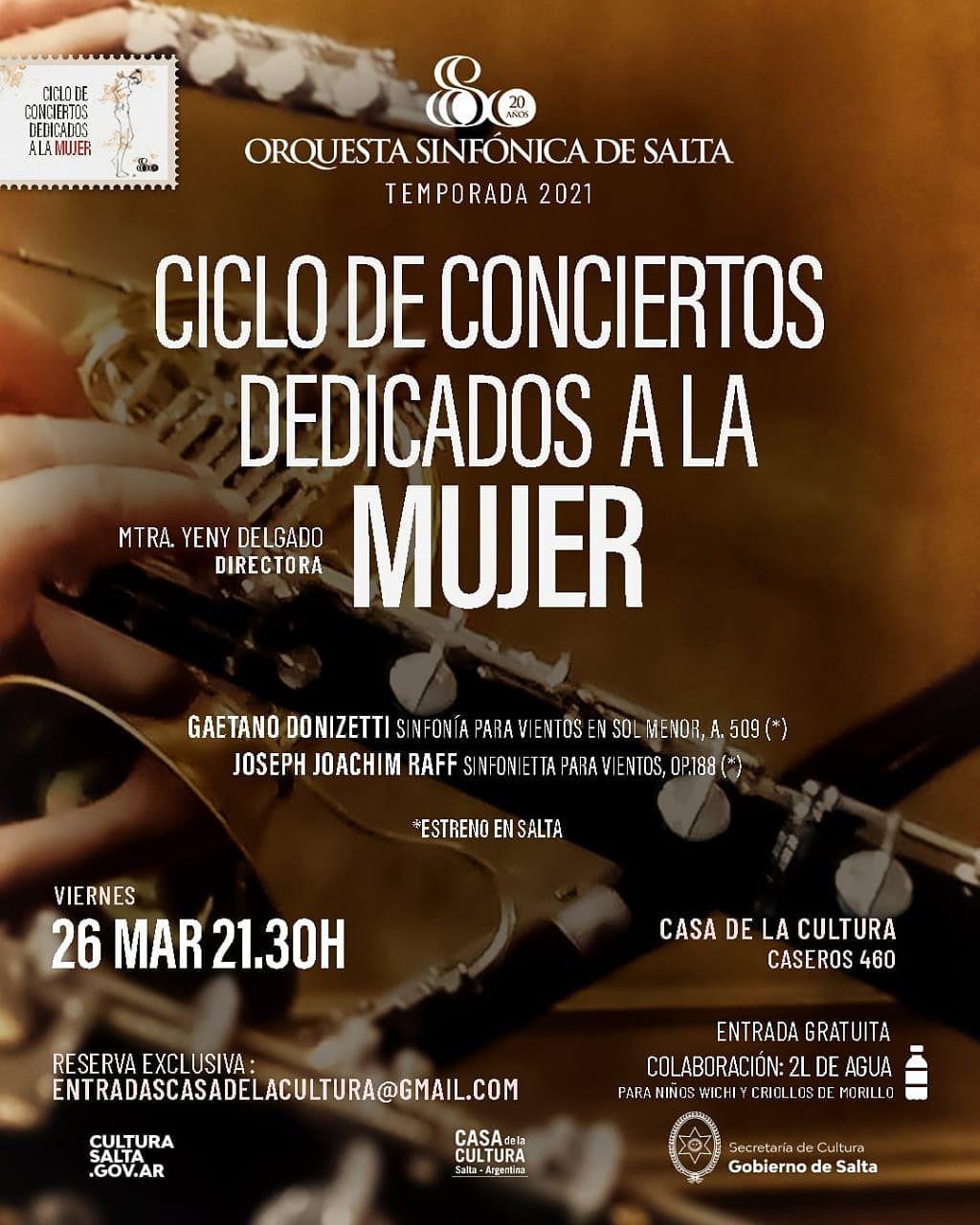 El espectáculo es este viernes 26 de marzo a las 21.30 en la Casa de la Cultura.