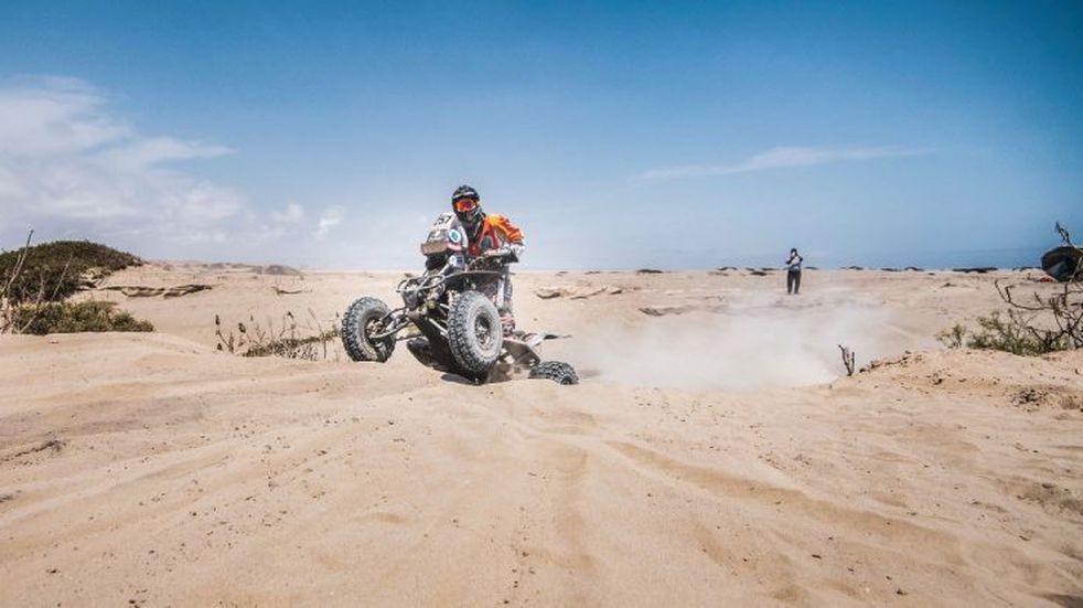 Gallego pasó la 6ta etapa y sigue en el podio en el Dakar