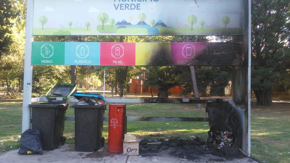 Por hacer daño: incendiaron una estación ecológica
