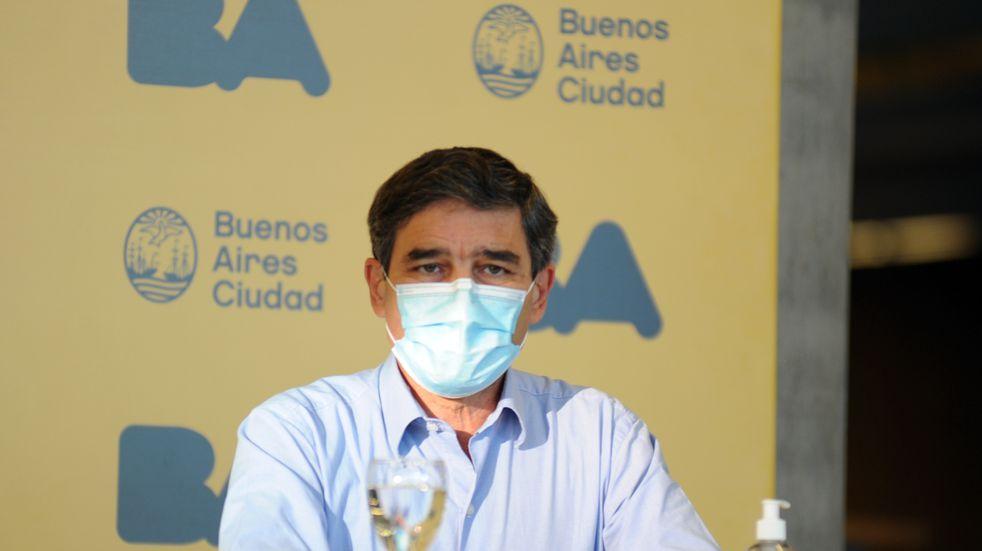 """Fernán Quirós: """"Nuestro principal limitante está en que la Argentina pueda acceder a más vacunas"""""""