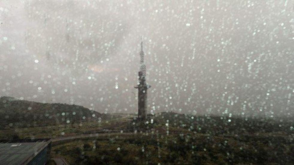 Lluvia en San Luis.