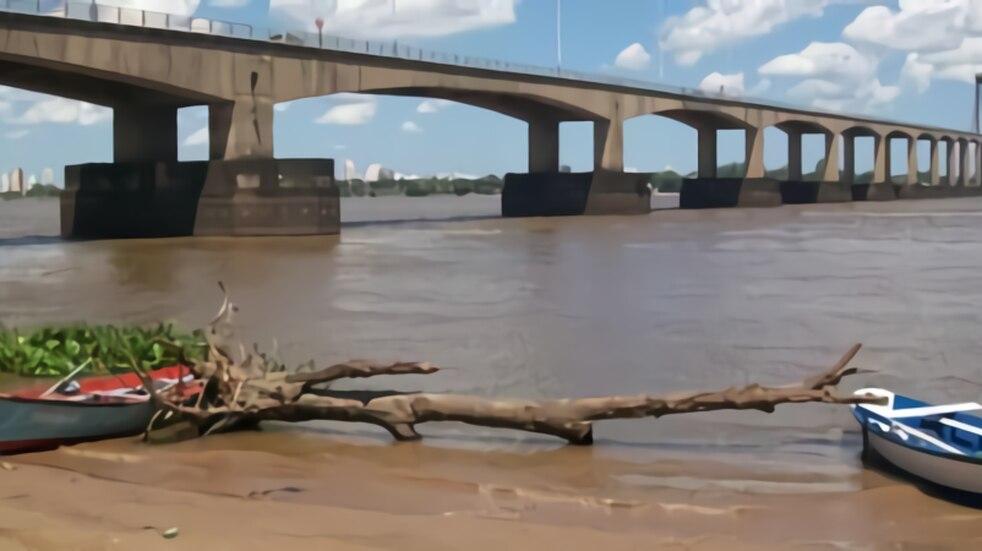 La bajante del Paraná en Corrientes llegará a marcas históricas de 1944 y 1969
