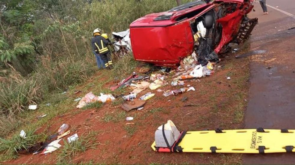 Siniestro fatal en San Vicente: un hombre falleció tras impactar con su automóvil