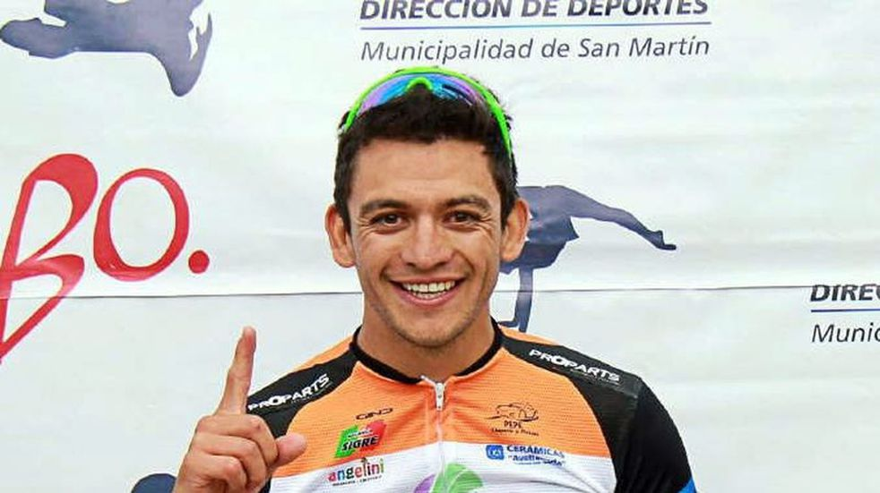Mauricio Páez, el ciclista de Tunuyán que integra el equipo de San Juan